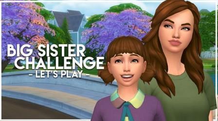"""Sims 4 """"Big Sister"""" Challenge"""