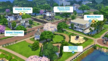 "Sims 4 ""Build a City"" Challenge"