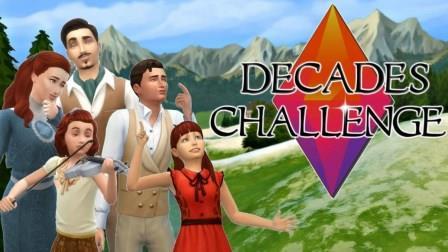 "Sims 4 ""Decades"" Challenge"