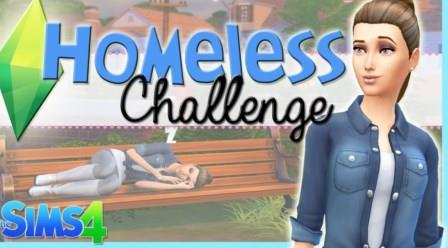 "Sims 4 ""Homeless"" Challenge"
