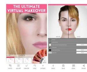 Virtual Makeover app