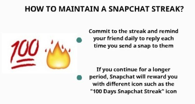how to maintain a snapchat streak