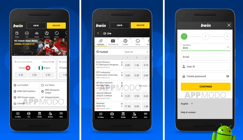 Download Bwin App