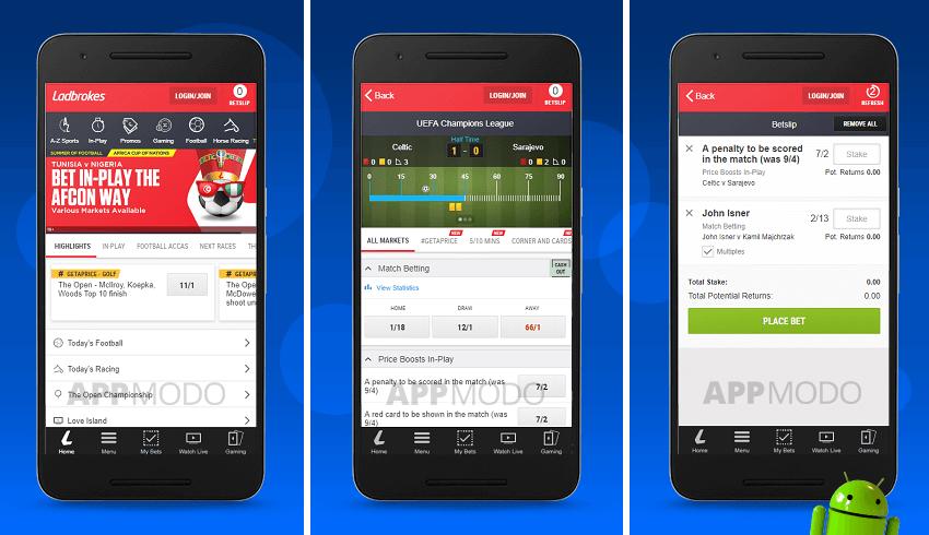 Mobile.Ladbrokes.Com App