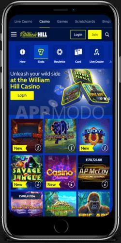 William Hill Casino Mobile