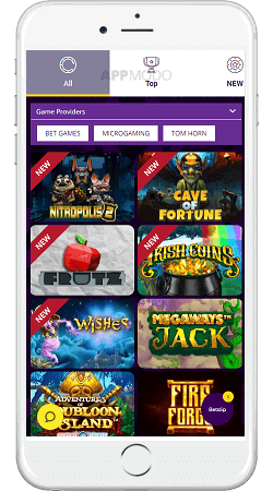 HollywoodbBets mobile casino