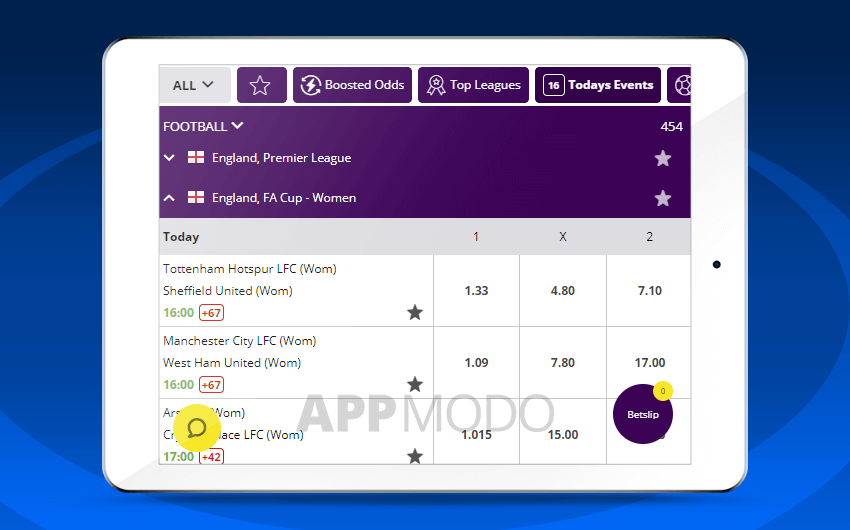 Hollywoodbets mobile site